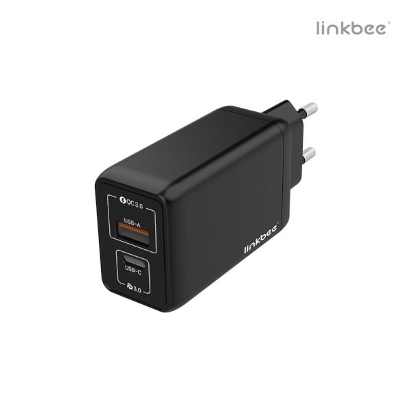 링크비 USB-PD PPS/QC3.0 65W GaN 충전기 GLPD65W1A1C