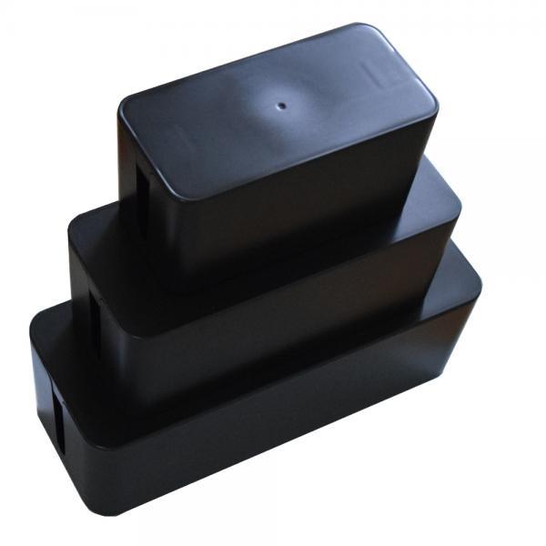 멀티탭 정리함 검정 [제품선택] T-MO235B 소형
