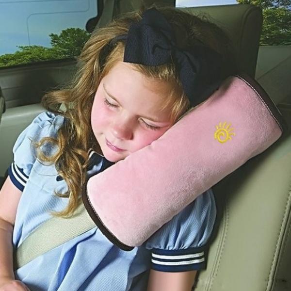 차량용 안전벨트 쿠션 GTS36499 [색상 선택] 핑크