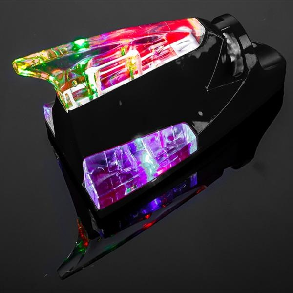 풍력 발전 스트로브 LED  추돌방지 데코 샤크 안테나