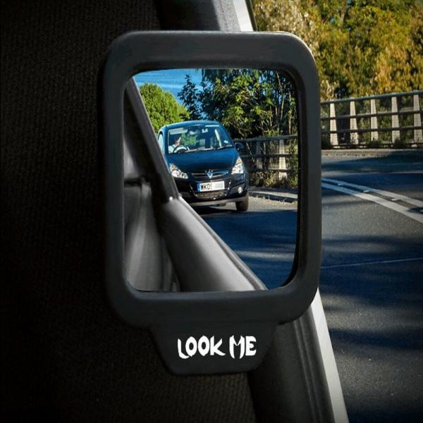 하차 안전 사각지대 보조 미러 자석탈부착 안전안심
