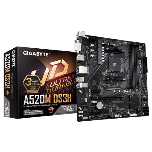 A520M DS3H 듀러블에디션 제이씨현 (AMD A520/M-ATX)