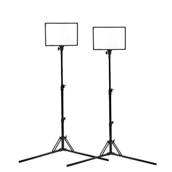 큐브모아 큐브라이트77 더블세트 LED 개인방송조명 유튜브 BJ 스튜디오촬영