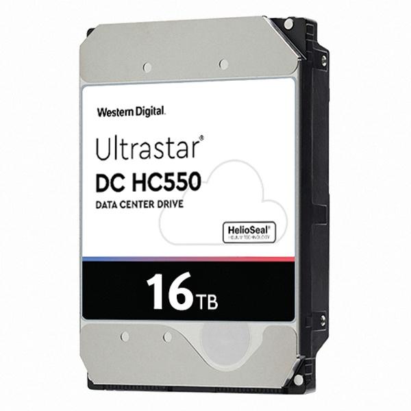 Ultrastar HDD DC HC550 16TB WUH721816ALE6L4 (3.5HDD/ SATA3/ 7200rpm/ 512MB/ CMR)