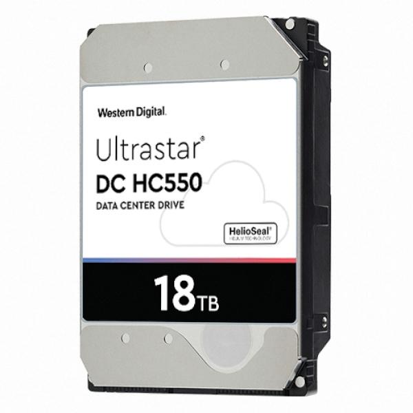 Ultrastar HDD DC HC550 18TB WUH721818ALE6L4 (3.5HDD/ SATA3/ 7200rpm/ 512MB/ CMR)