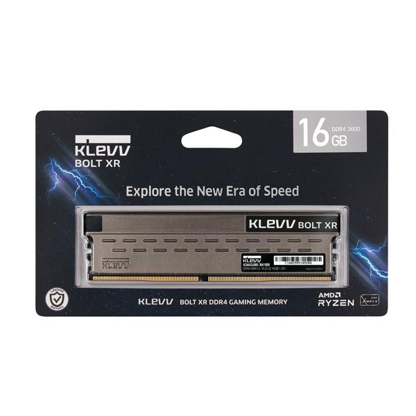 KLEVV DDR4 16GB PC4-28800 CL18 BOLT XR