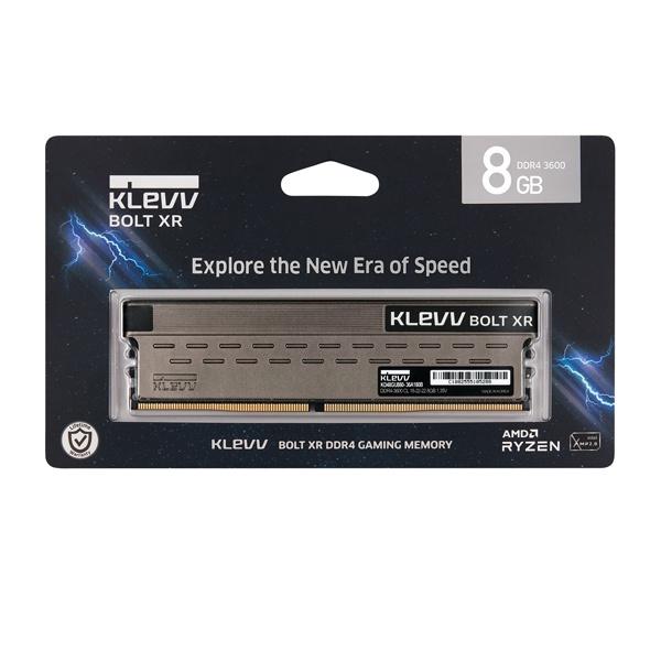 KLEVV DDR4 8GB PC4-28800 CL18 BOLT XR