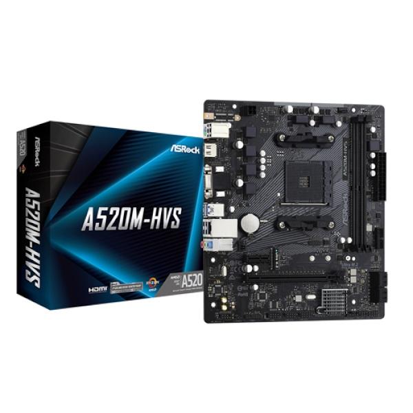A520M-HVS 에즈윈 (AMD A520/M-ATX)