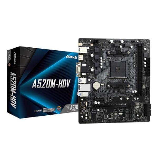 A520M-HDV 에즈윈 (AMD A520/M-ATX)