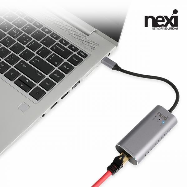넥시 NX-U3125G (유선랜카드/USB C타입/2.5Gbps) [NX1061]