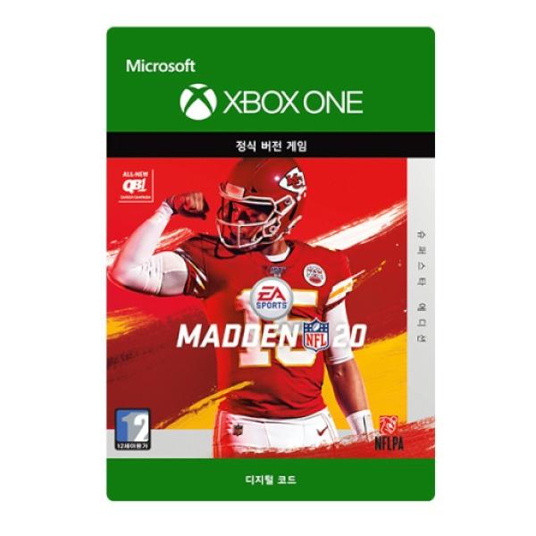 XBOX ONE 매든 NFL 20 / 미식축구 : 슈퍼스타 에디션