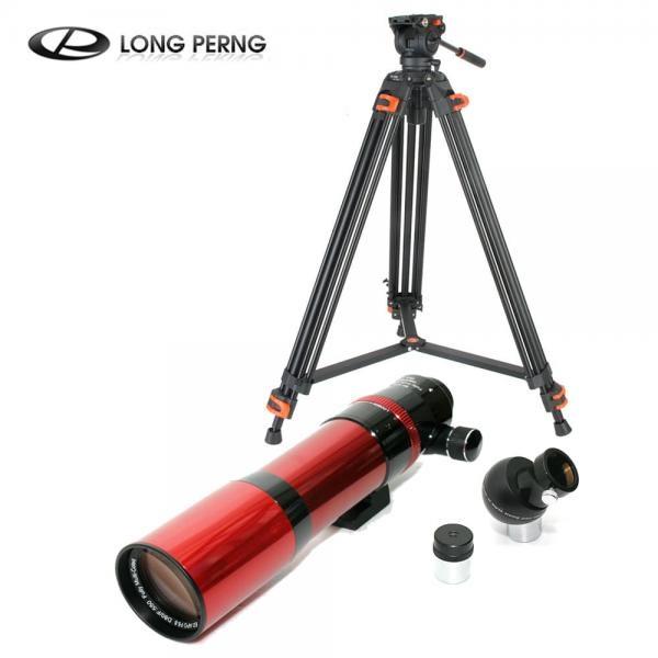 [세트 상품] 롱펑 80 ED F550/80mm 정립프리즘 20mm 접안렌즈