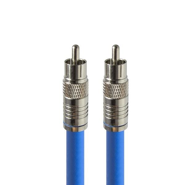 HDTOP 국산 디지털 RCA 75옴 코엑셜 동축 케이블 [30M/블루] [HT-ZBCX300]