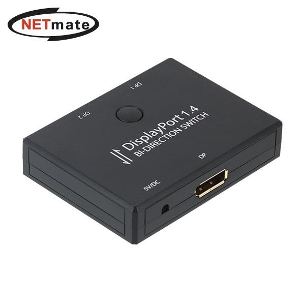 NETmate NM-ADD01[DP 수동선택기 2:1]
