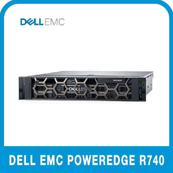 DELL PowerEdge R740 [실버 4208 16G/12Tx2/H730P/750W/3Y BTO]
