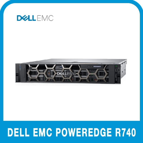 DELL PowerEdge R740 [실버 4208 16G/8T/H730P/750W/3Y BTO]