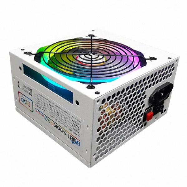 EVEREST 500K RGB White 벌크 (ATX/500W)