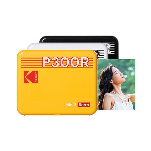 휴대용 포토프린터 미니 3 레트로 P300R 핸드폰 사진인화기 본체