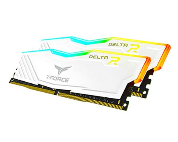 T-Force DDR4 16GB PC4-28800 [8GB x 2] CL18 Delta RGB 화이트