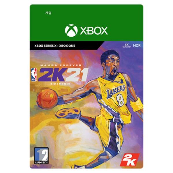 XBOX ONE NBA 2K21 맘바 포에버 에디션