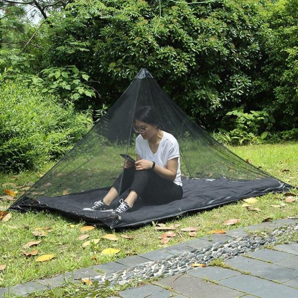 초간단 안티버그 캠핑 야외 미니 방충망 텐트 모기장
