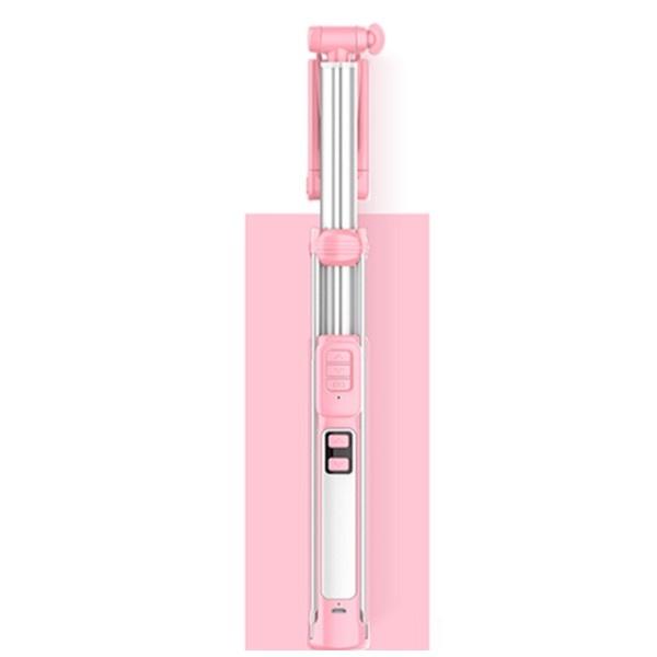 RRP ADYSS-18 LED조명 셀카봉 160cm [색상 선택] [핑크]