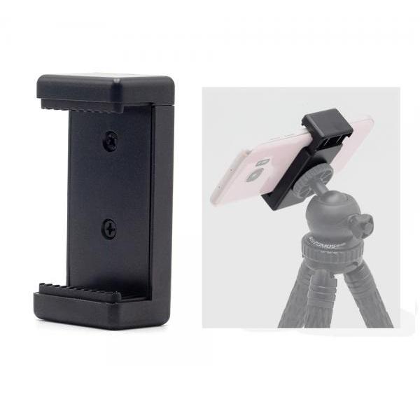 스마트폰 홀더 클립 거치대 개인방송장비 아이폰 갤럭시/스프링락 방식