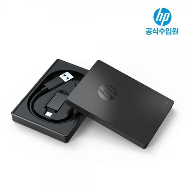 외장SSD, Portable P700 [USB3.1/NVMe] [블랙/512GB/파우치증정]