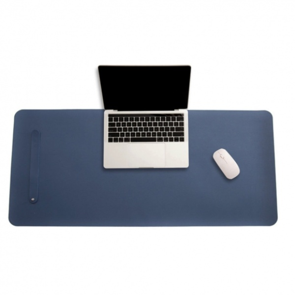 파스텔 휴대용 가죽 데스크 매트 (80x40cm) [제품선택] (블루)[GTS38050]