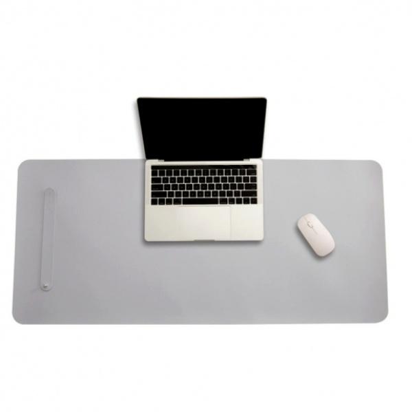파스텔 휴대용 가죽 데스크 매트(70x34cm) [제품선택] (그레이) [GTS38056]