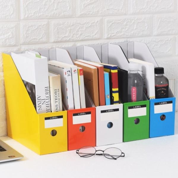 DIY 페이퍼 파일박스 5p세트 [제품선택] (컬러)[GTS38024]