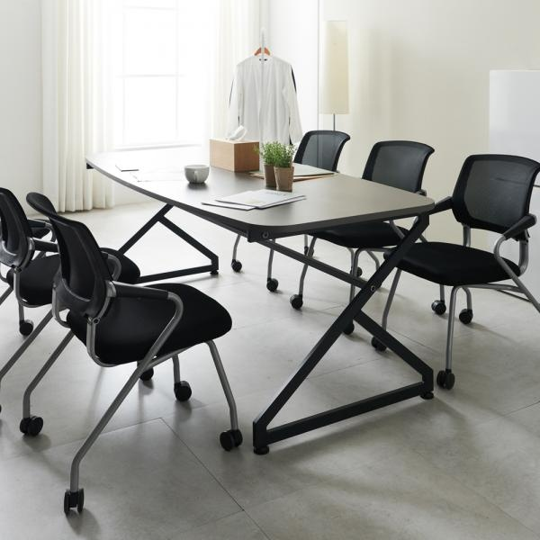 지크 2000 6인용 회의용 테이블 미팅 테이블