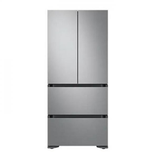 삼성전자 비스포크 스탠드형 김치냉장고 RQ48T94B1T2 (486L) / 1등급 / Double Silver / 도어포함