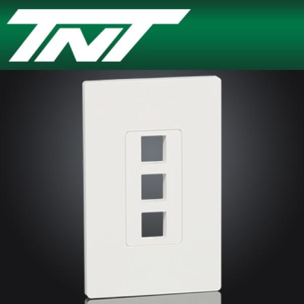 TNT NM-TNT58 아울렛 3포트 페이스 플레이트
