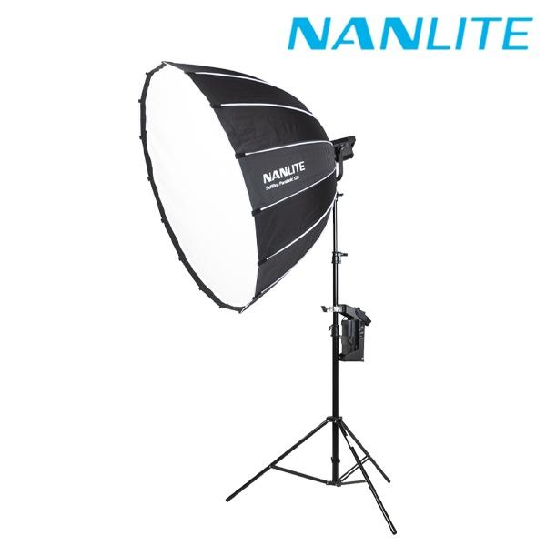 [NANLITE ] 포르자 200 파라볼릭120 소프트박스 원스탠드 세트
