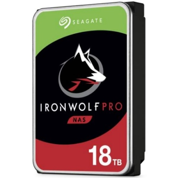 IRONWOLF PRO HDD 18TB ST18000NE000 (3.5HDD/ SATA3/ 7200rpm/ 256MB/ PMR) ▶ 무료배송 쿠폰 2,500원 ◀