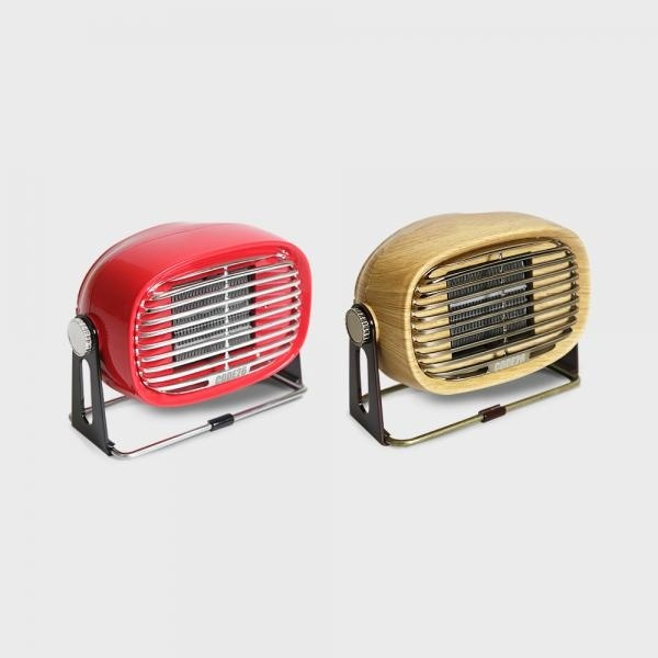 [(주)씨엠26] 코드26 PTC 소형 미니 가정용 캠핑용 히터 온풍기 발난로 PTCF500 WO/RE 레드(RE)
