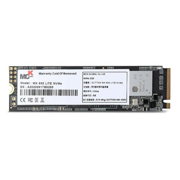 OUTTON MK-500 LITE series M.2 NVMe 2280 256GB TLC
