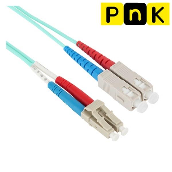 강원전자 PnK P104A 10G 광점퍼코드 LC-SC-2C-멀티모드 30m