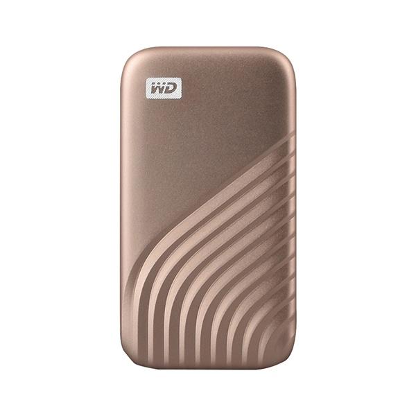 외장SSD, NEW MY PASSPORT [USB3.2 Gen2] 500GB [골드/500GB ]