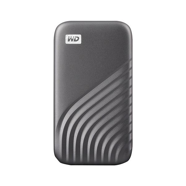 외장SSD, NEW MY PASSPORT [USB3.2 Gen2] 2TB [그레이/2TB]