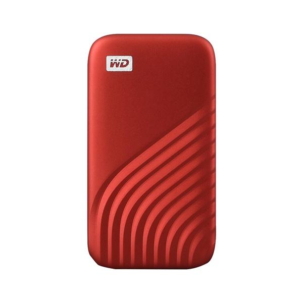 외장SSD, NEW MY PASSPORT [USB3.2 Gen2] 2TB [레드/2TB]
