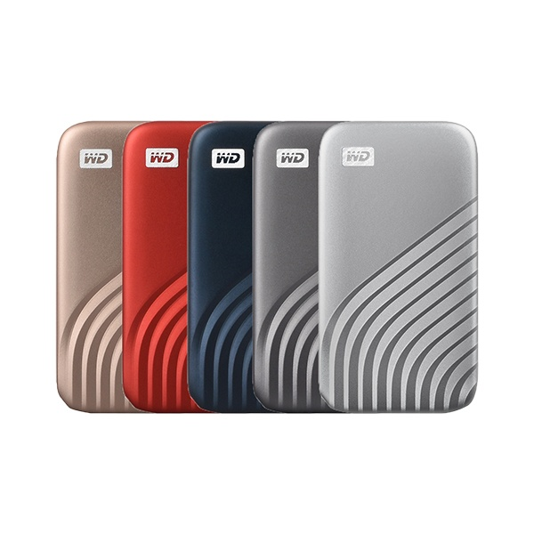 외장SSD, NEW MY PASSPORT [USB3.2 Gen2] 2TB [골드/2TB ]
