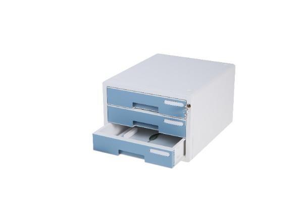 시스템 컬러 서류함 3단 10203 [제품선택] 민트