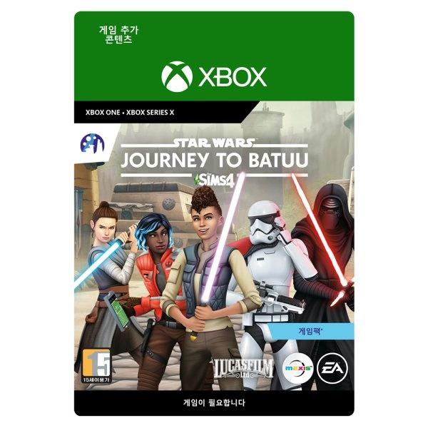 XBOX ONE 심즈4 스타워즈 바투 행성의 모험 게임팩 추가컨텐츠