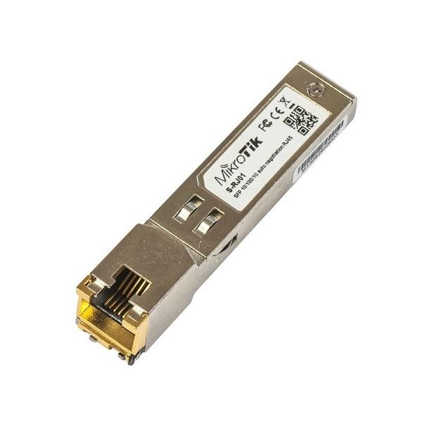 MikroTik RJ45모듈, [S-RJ01] [10/100/1000M]