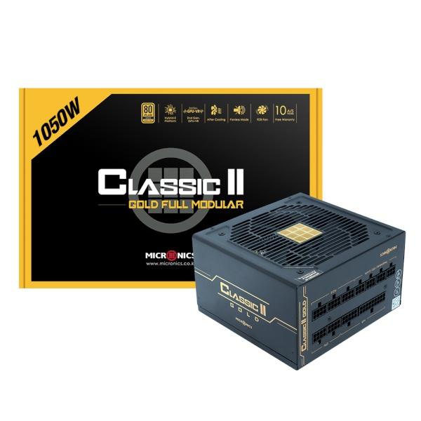 Classic II 1050W 80PLUS GOLD 230V EU 풀모듈러 (ATX/1050W)
