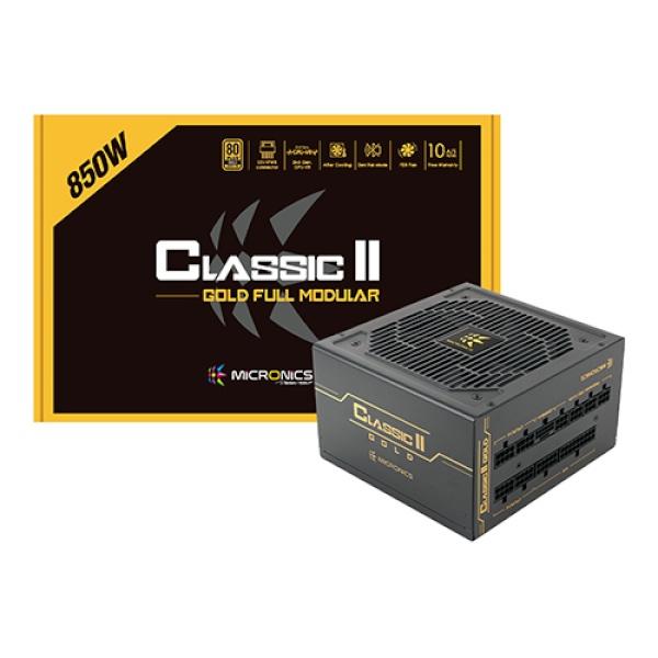 Classic II 850W 80PLUS GOLD 230V EU 풀모듈러 (ATX/850W)