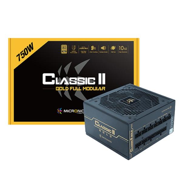 Classic II 750W 80PLUS GOLD 230V EU 풀모듈러 (ATX/750W)