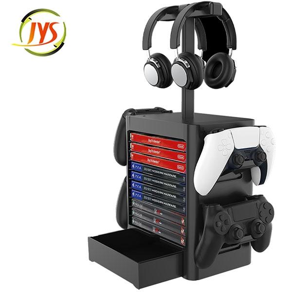 JYS 타이틀 주변기기 수납 거치 멀티스탠드 /PS5/PS4/NSW/XBOX